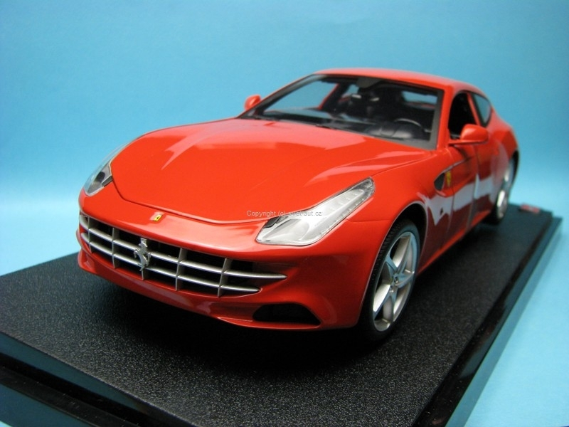Ferrari FF 2011 red 1:18 Hot Wheels